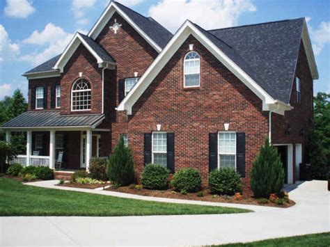 brick colonial house plans dutch colonial house plans traditional red brick wall
