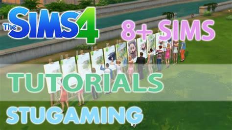More From 8 by The Sims 4 Mod Tutorial More Than 8 Sims In Active