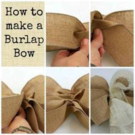 how to place burlap bow and burlap streamers on christmas tree 1000 images about burlap flowers and bows on burlap flower tutorial burlap bows