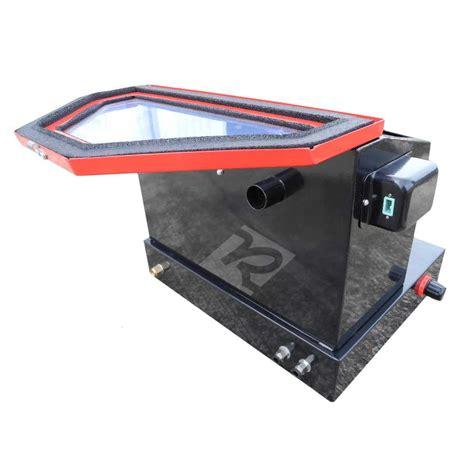benchtop abrasive blast cabinet redline re22 benchtop abrasive sand blasting cabinet