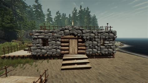 rock house the forest se02 eps01 tutorial building rock house youtube