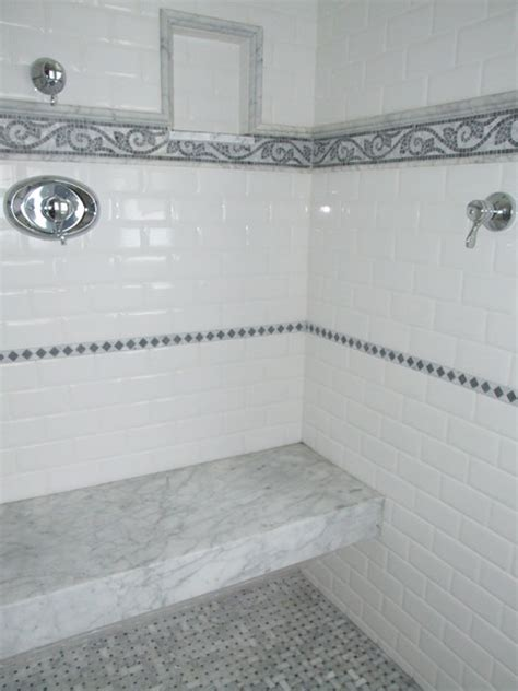 built in shower benches master shower with built in marble bench traditional