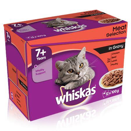 Whiskas Dewasa Tuna 12 Kg 7 selection in gravy 12 x 100g 1 2kg cat food whiskas 174 uk
