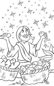 coloring pages jesus feeds 5000 jesus feeds 5000 coloring page coloring pages
