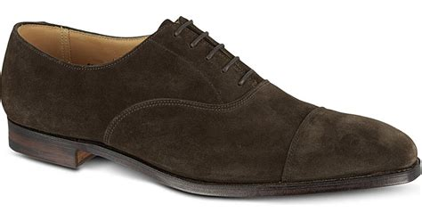 crockett and jones oxford shoes crockett and jones hallam oxford shoes in brown for