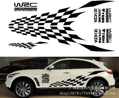 Aufkleber Auto Zielflagge by Kaufen Gro 223 Handel Zielflagge Aufkleber Aus China