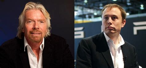 elon musk space richard branson and elon musk the new space race is upon
