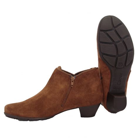 brown ankle boots gabor boots trudy ankle boot in brown mozimo