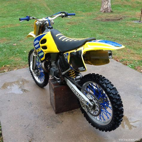 custom 1994 suzuki rm250 showcase bike vintagemx net