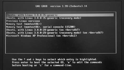 12 04 grub customizer inconsistent with actual boot menu