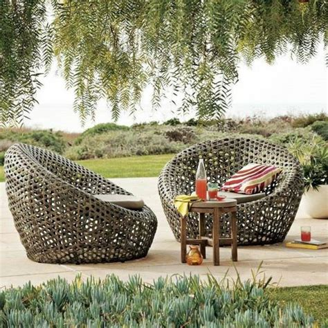 Large Outdoor Wicker Chairs 25 outdoor rattan furniture lounge furniture from rattan and wicker interior design ideas