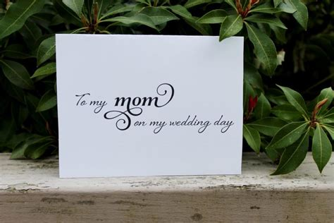 thank you letter to my on my wedding day to my on my wedding day printable diy of the