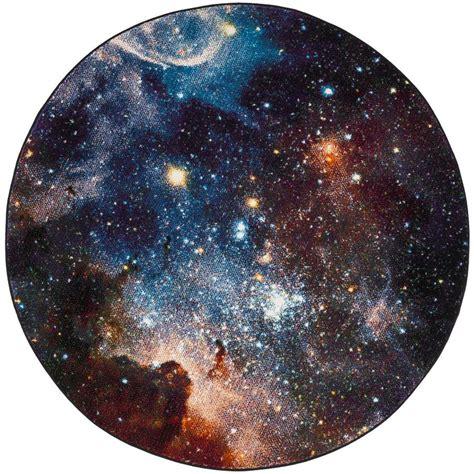 shop safavieh galaxy nebula purple indoor space area
