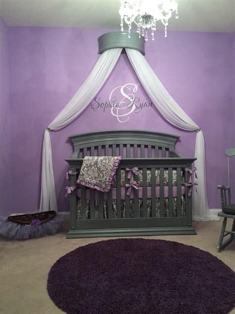 kinderzimmer ideen lila best 25 princess baby nurseries ideas on