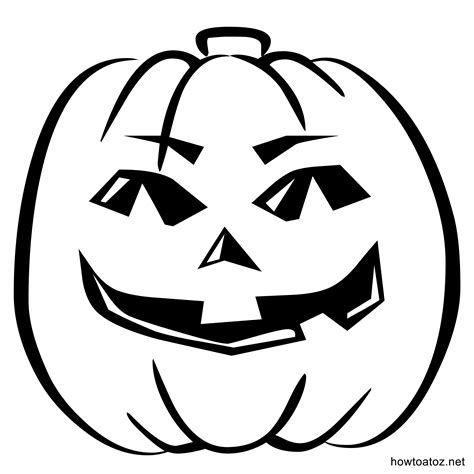 halloween pumpkin templates printable festival collections