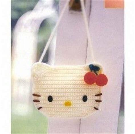 crochet pattern hello kitty bag hello kitty crochet bag crochet projects pinterest