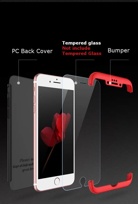 360 Softshell Iphone 6 6s 6 6splus 7 7 bakeey 3 in 1 dip 360 protection pc for iphone 6 6s 6plus 6splus alex nld
