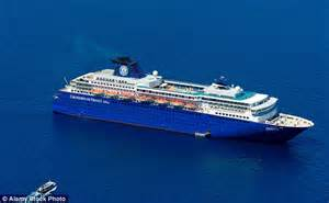 ship zenith zenith cruise ship anchor damages coral reef in the cayman