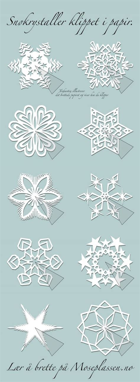 paper snowflake pattern instructions 48 best snow flakes images on pinterest paper snowflakes