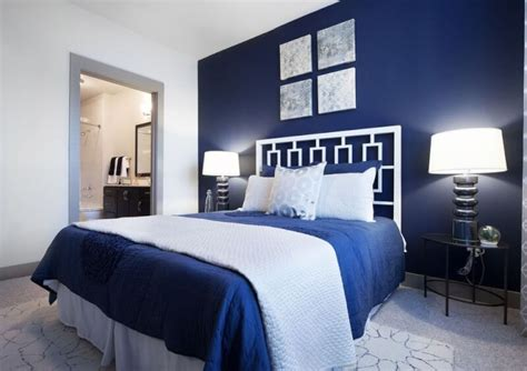 blue and white bedroom navy blue bedroom ideas light blue amp dark blue bedrooms 14613 | navy blue bedroom theme