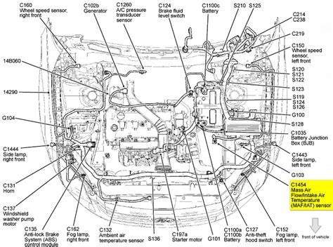 motor repair manual 2001 ford focus seat position control diagram 2012 ford focus engine diagram