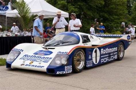 rothmans porsche 962 2009 ault park concours d elegance winners and photo gallery