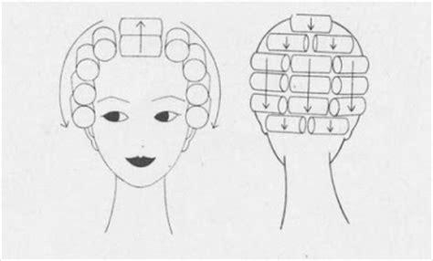 pattern for roller set bobbins and bombshells a basic wet set for vintage