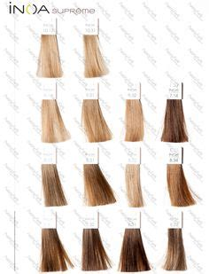 loreal inoa supreme colour chart l oreal professional inoa hair colour chart hair color