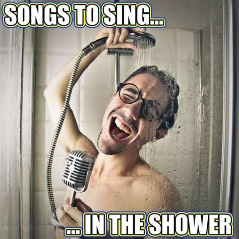 best tunes to sing in the shower spotify playlist