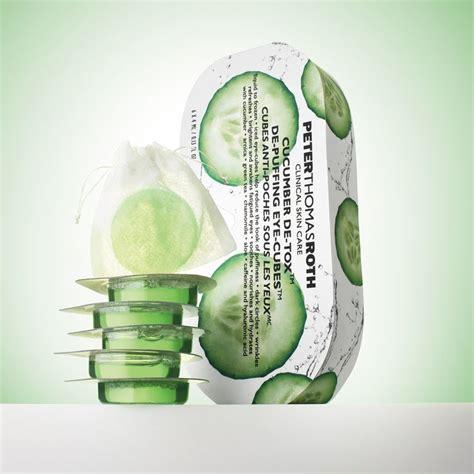 Roth Cucumber Detox Eye Cubes by Freeze Out Circles Freezer Ready Indivudal Cubes Pop