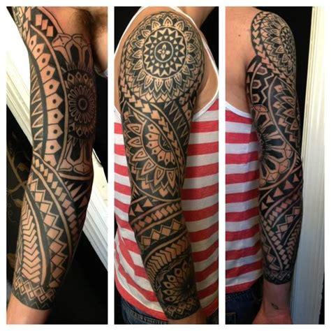 mandala tattoo quarter sleeve mandala sleeve by luke jinks tattoo pinterest sleeve