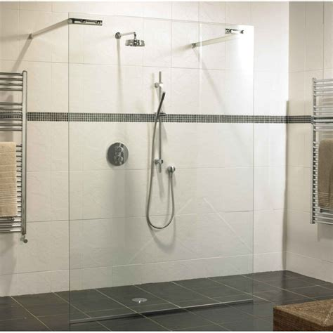 A Shower by Schluter Shower Wall Tile Westsidetile