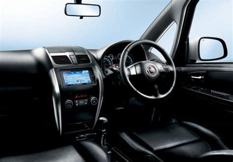 Fiat Sedici Interior by Fiat Sedici Courtsey Ls Interior Picture Carkhabri