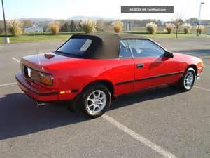 1987 Toyota Celica 1987 Toyota Celica Gt Convertible 2 Door 2 0l