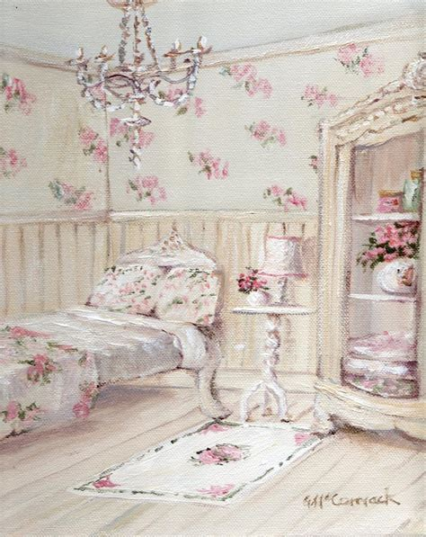 the shabby chic floral guest room painting the shabby