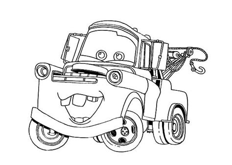 coloring pictures of mater from cars 41 best disney s quot cars quot party printables images on