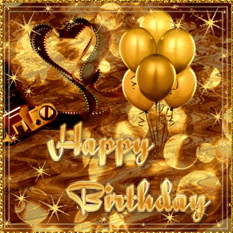 Golden Birthday Cards Golden Birthday Wishes Picture 125080664 Blingee Com