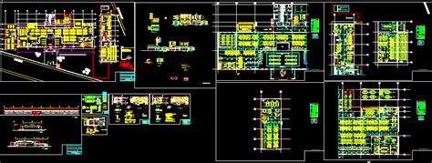 50m2 House Design by Office Building Dwg Autocad Projects Projects Dwg