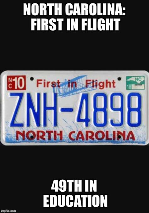 North Carolina Meme - image tagged in north carolina imgflip