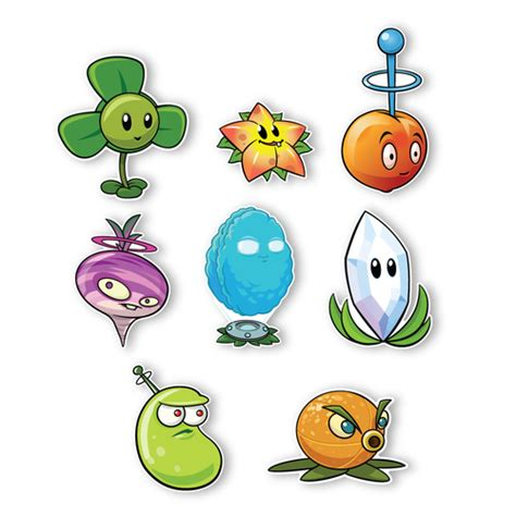 Wall Stickers Dinosaurs plants vs zombies 2 wall decals special far future plant