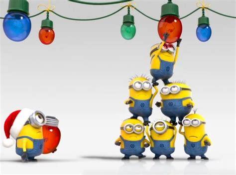 bonita imagen de feliz navidad de minion trabajo en equipo minions buscar con google equipo