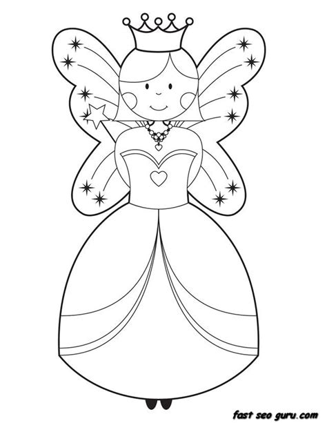 back gt gallery for gt cute fairy coloring pages