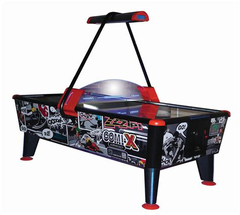 commercial air hockey table comix black air hockey table liberty