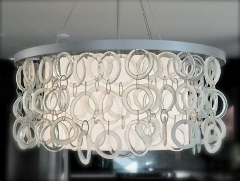Recycled Glass Chandeliers The Oze Recycled Glass Chandelier Contemporary Chandeliers Vancouver By Ridge Studio
