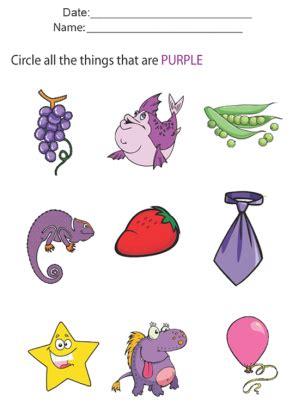 All Worksheets 187 Color Purple Worksheets For Preschool Printable Worksheets Guide For Children Color Purple Worksheets For Preschool