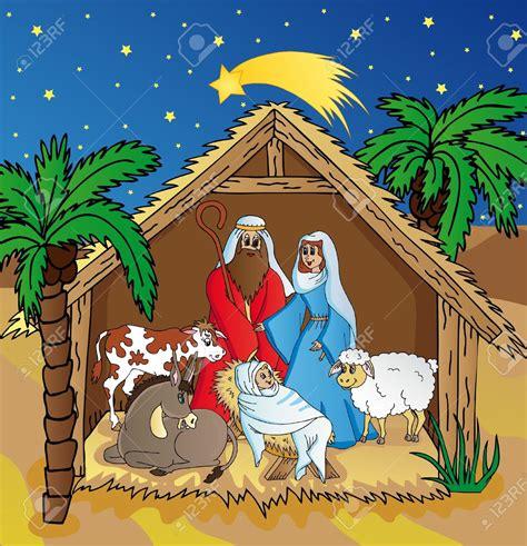 clipart presepe bethlehem nativity clipart