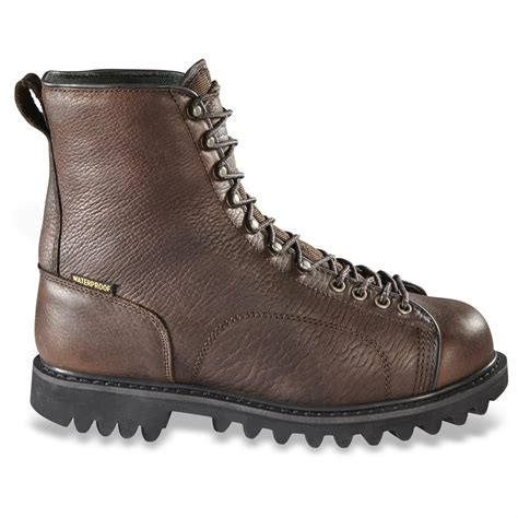 mens boots guide guide gear s leather lace to toe boots