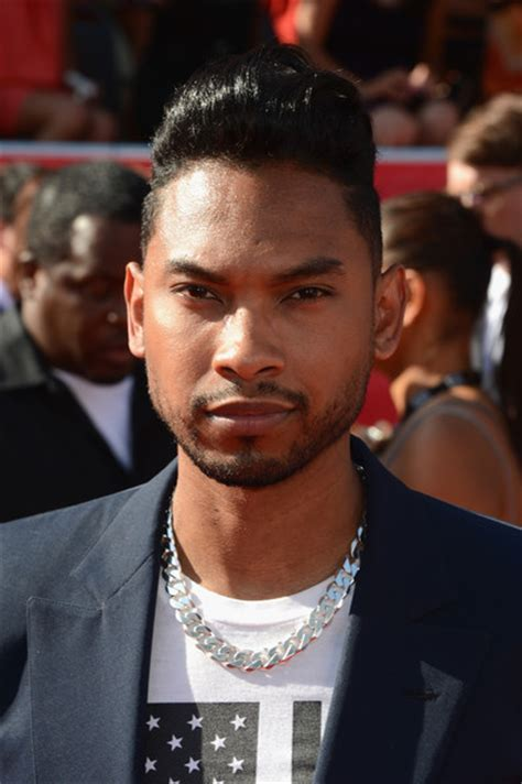 miguel singer hairstyle miguel pictures the 2012 espy awards arrivals zimbio