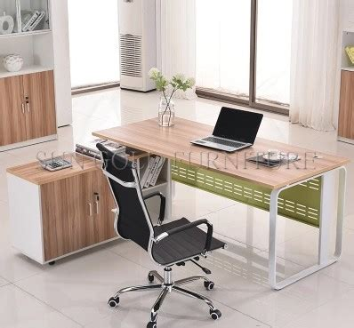 european style office desk office furniture particle board