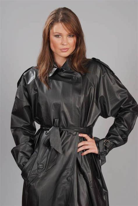 lade in pvc plastic raincoat raincoat and plastic on